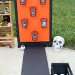 See who can throw the most zombie eyeballs into each spooky cup this Halloween. ...