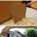 Make these great tombstones out of cardboard boxes and save a ton on Halloween d...