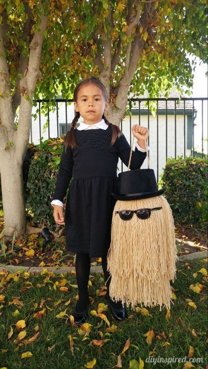 Make Wednesday Addams costume yourself Costume Idea for Carnival, Halloween & F ...