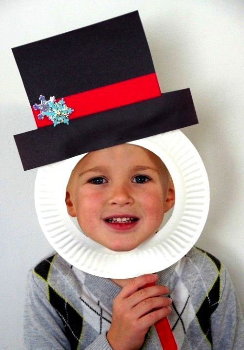 60 Christmas ideas for crafting with paper plates for toddlers - living ideas and decoration