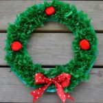 Easy Craft for Kids: Paper Plate Christmas Wreath