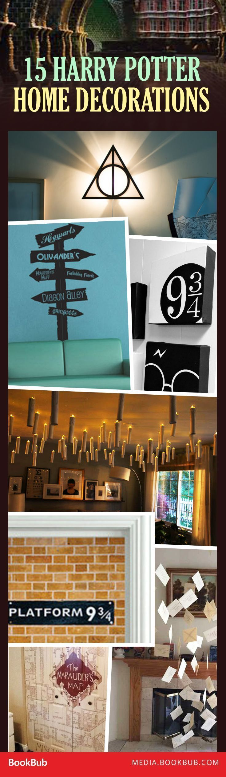 "15 Incredibly Creative Ways to Add ""Harry Potter"" Magic to Your Home ..."