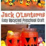 Easy Halloween Lanterns for Preschoolers - looking for cute Halloween Crafts for...