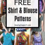 Over 90 Free Shirt & Blouse sewing patterns for women. Many simple and easy diy ...