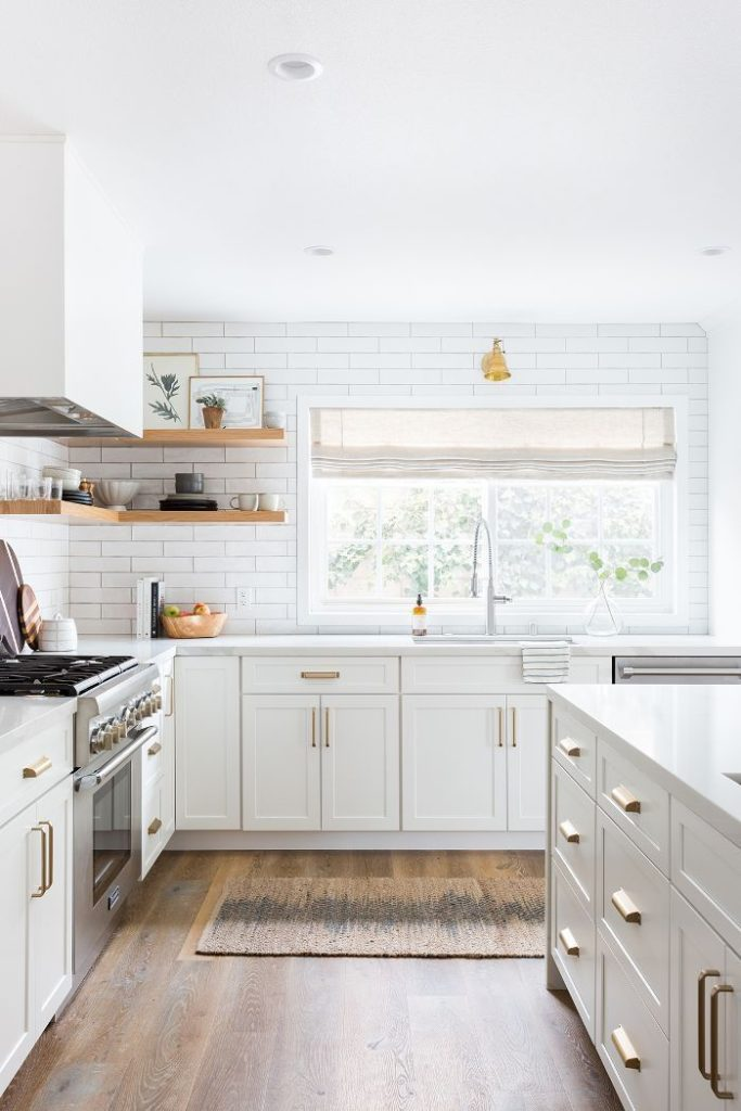 This Stunning All-White Kitchen Renovation Was Totally Worth the $100K
