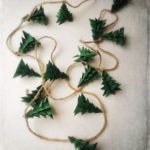 Christmas Garland Rustic Evergreen Christmas Tree Decoration