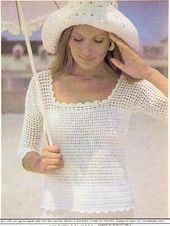 Blouse Published in The Australian Women's Weekly, Wednesday 4 December 1974