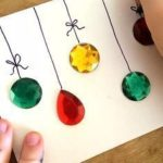 A simple Christmas card craft for kids and adults.
