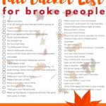 Fall Bucket List Ideas for Bankruptcy People + $ 100 Walmart Gift Card Giveaway # ...