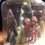 30 Affordable Christmas Table Decorations Ideas 2019 #rusticcrafts Christmas Dec...