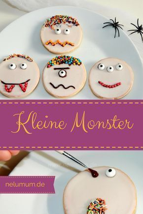 Cute monsters for Halloween! Very fast and easy - sometimes it works without a ba ...