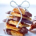 Almond Florentine with Chocolate