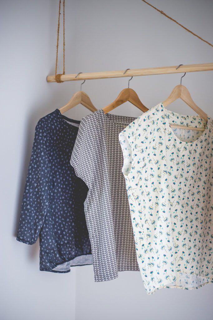 The perfect summer blouse - sewing pattern tested