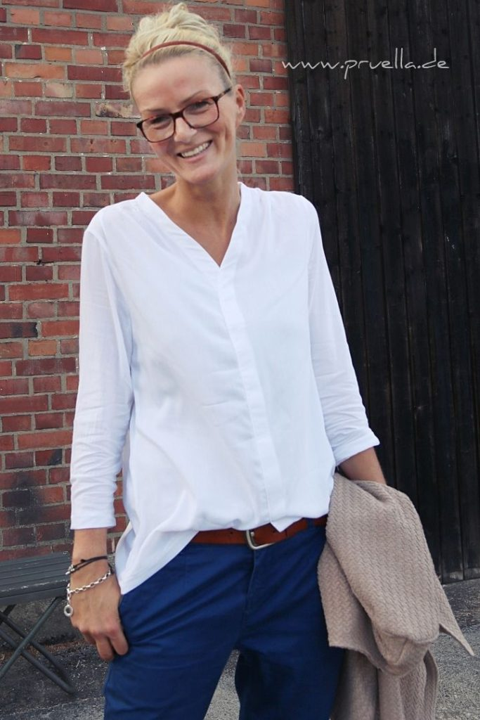 EBook bellah casual blouse in size 34 to 46 light blouse A4 A0 viscose, silk, ...