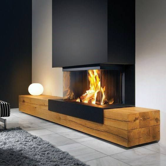 Modern fireplace designs - #chimney designs #modern