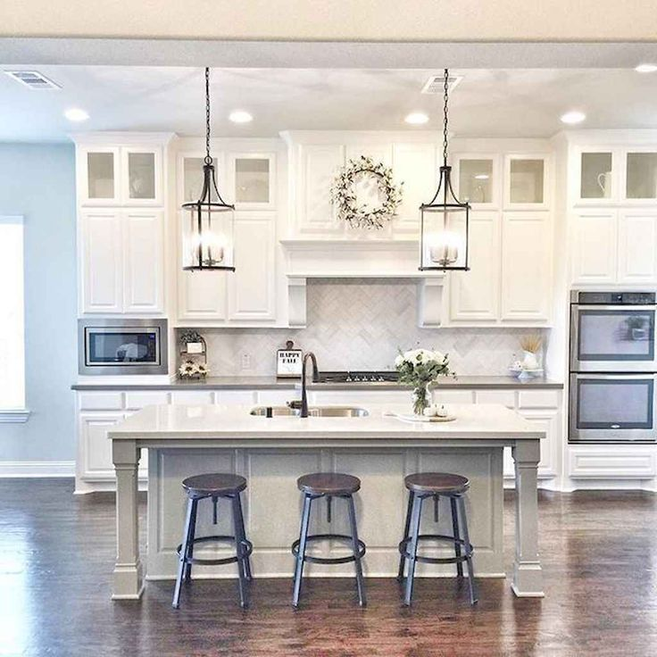 White kitchen cabinet design ideas (47)