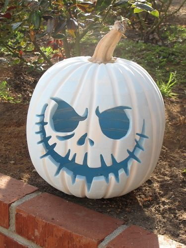 Jack Skellington pumpkin.......love love this pumpkin and am going to have this ...