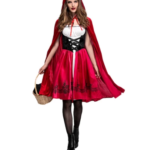 New Little Red Riding Hood Costume Dress
