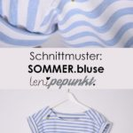 The SOMMER.blouse is a quickly sewn blouse in a casual shape: the shoulder ...