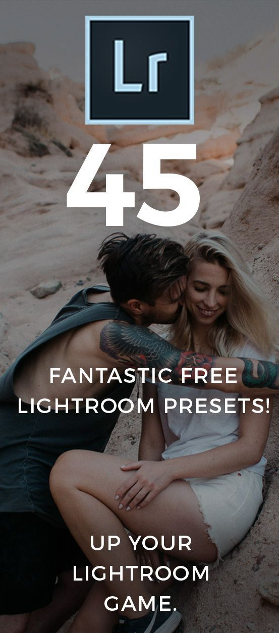 45 Free Presets Perfect for Portraits, Weddings & Engagements! FREE FOR A LIMITE...
