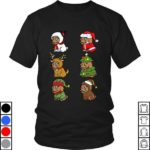 Teeecho Goldendoodle Xmas Costumes Funny Dog Christmas Gift T-Shirt, Sweatshirt, Hoodie for M...