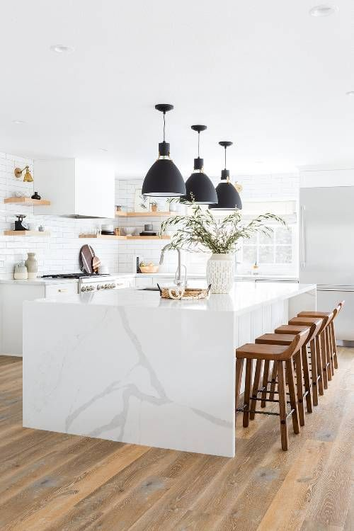 This Stunning All-White Kitchen Renovation Was Worth $100K | MyDomaine