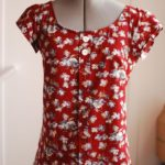 Seven Days of Sorbetto pattern remixes - 7 cute tops all using the same free pat...