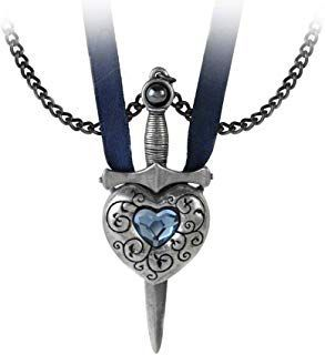Alchemy Gothic Pewter Womens Pendant Necklaces Alchemy Gothic Love Is King Heart...