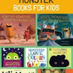 Monster books for kids that you can read to preschoolers before the upcoming Hal...
