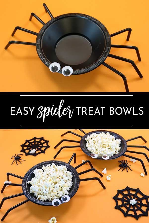 Simple spider bowls - #single spider worms