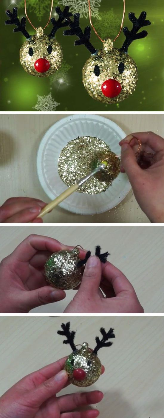Instructions: Crafts with 2 year old children for Christmas