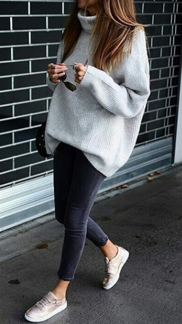 Fashion | Fashion outfits | Fashion ideas | Gray outfit | Gray outfits for women ..., ...