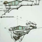 Model architecture drawing skill drawings art