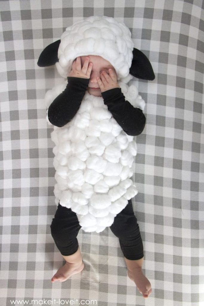 Make a Baby Lamb Costume…..a simple tutorial!! – Make It and Love It