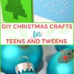 Today I'm going to show you a range of DIY Christmas art for teenagers and tween ...