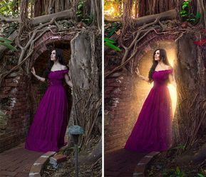 8 Steps to Adding Fantasy Lighting with Photoshop. Photoshop tips. Nordic360. #D...