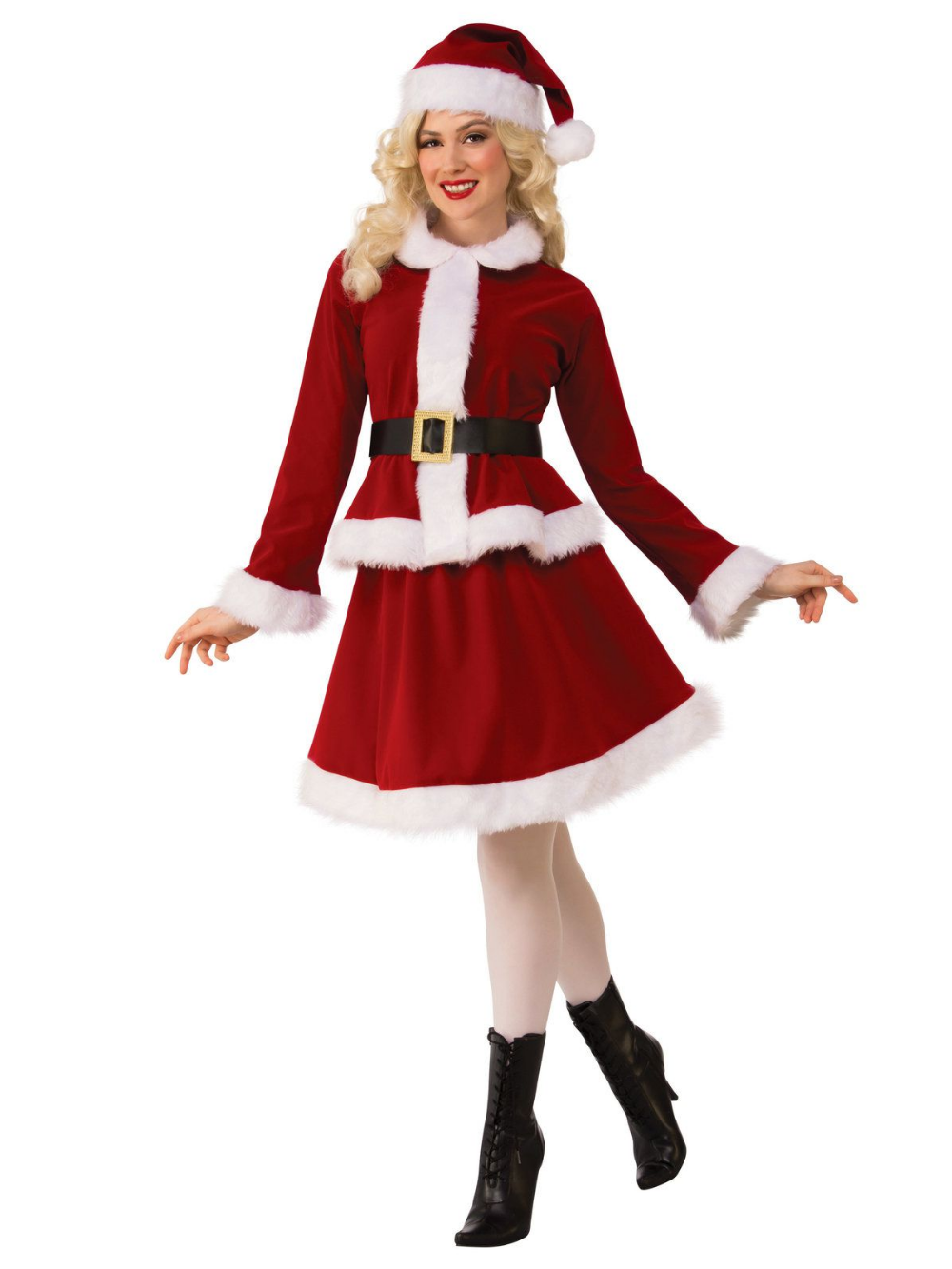 Womens Miss Claus Costume