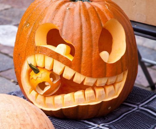 Thinking of new and unique ideas for your family pumpkin carving event every yea...