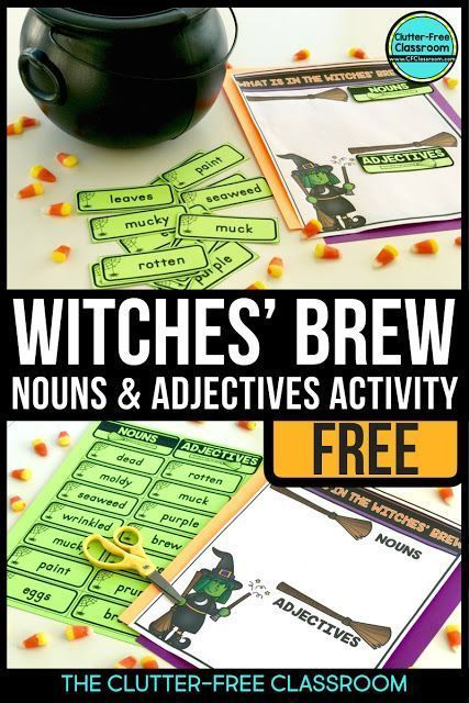 FREE Halloween activities for reading, math, and writing are included in this po...