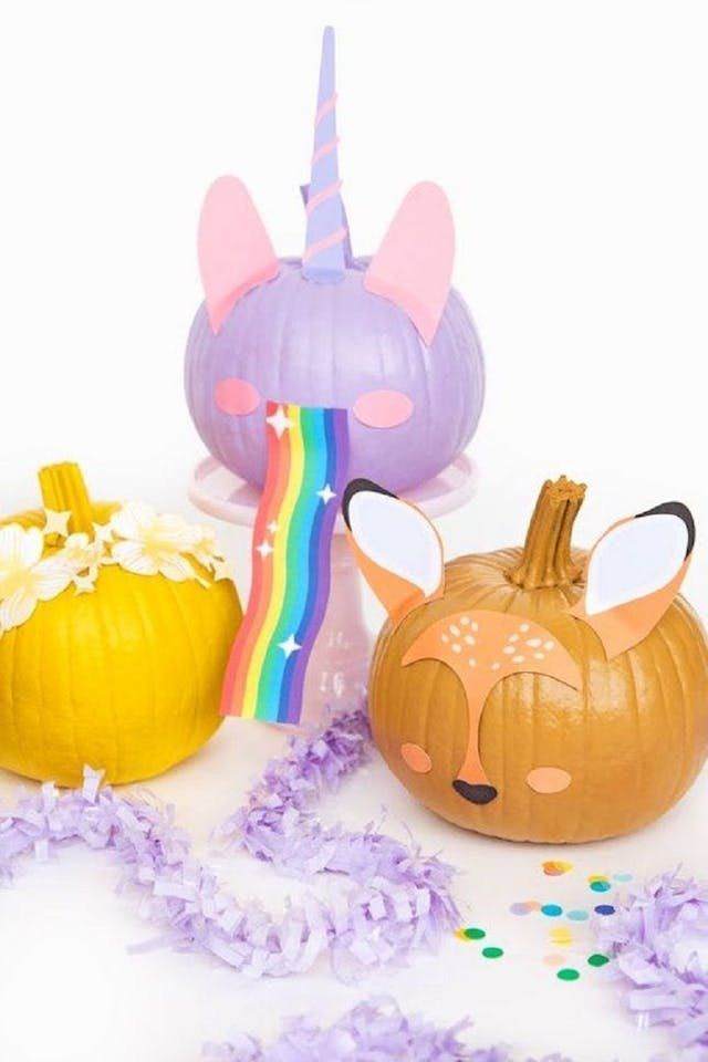 Stylish Pumpkin Decorating Ideas | From painted pumpkins to etching and carving....