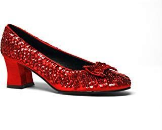 Dorothy Shoes Red Ruby Sequined Women's Shoes Dorothy-01 -- Check this awesome p...