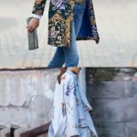 Flower Printed Coats
