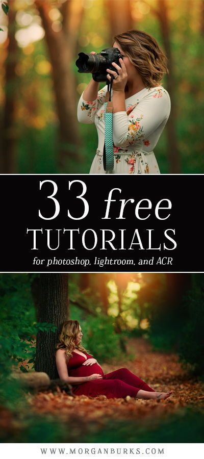 33 Free Tutorials for Photoshop Lightroom and ACR - #ACR #photography # ...