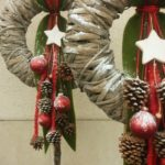 Christmas wreath ideas #christmas #ideas #wreath #rustikaleweihnachten Christmas