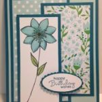 March 2016 Paper Pumpkin, Petite Pairs, Birthday Card, Stampin' Up!, Rubber ...