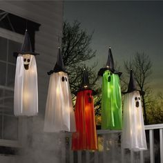 All the ghosts of Halloween's past are here to greet you. Five ghosts, each we...