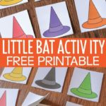 Here is a fun free printable for your Halloween lesson plans in preschool and pr...