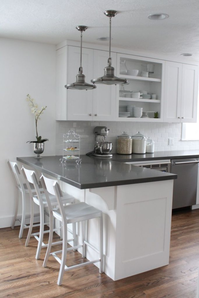 These 15 gray and white kitchens will make you faint #kitche ...