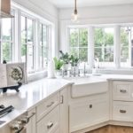 Kitchen cabinet color and finish trends come and go but white kitchens are not o...