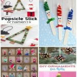 Popsicle Stick Christmas Ornaments - these popsicle stick Christmas crafts are s...